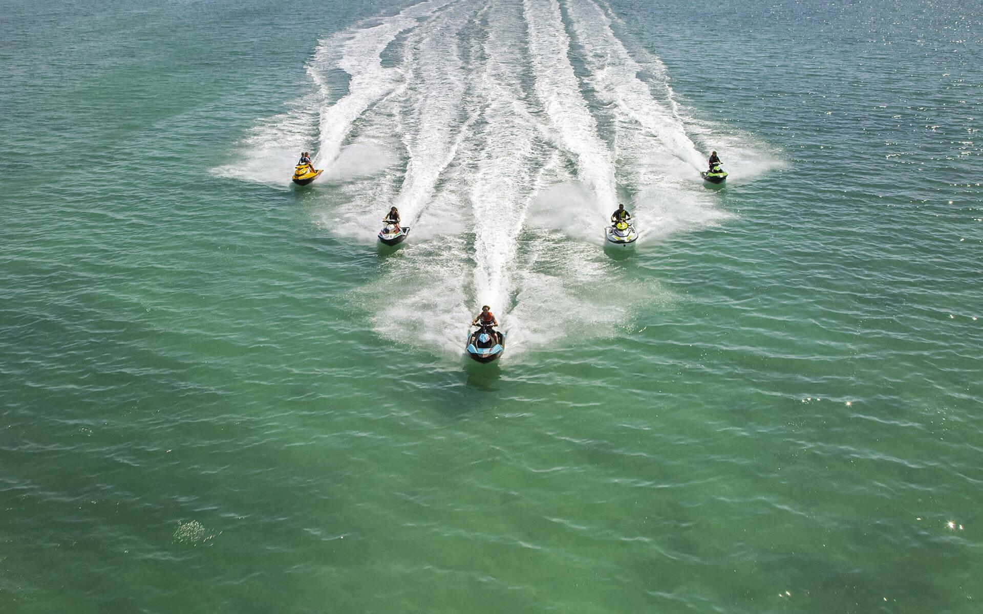 Jet-ski circuit