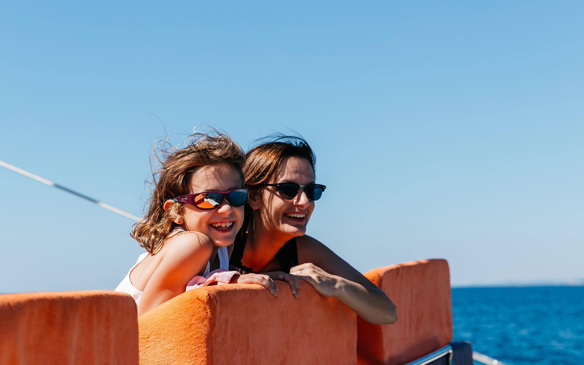 Excursión en el gran catamarán Cataventure