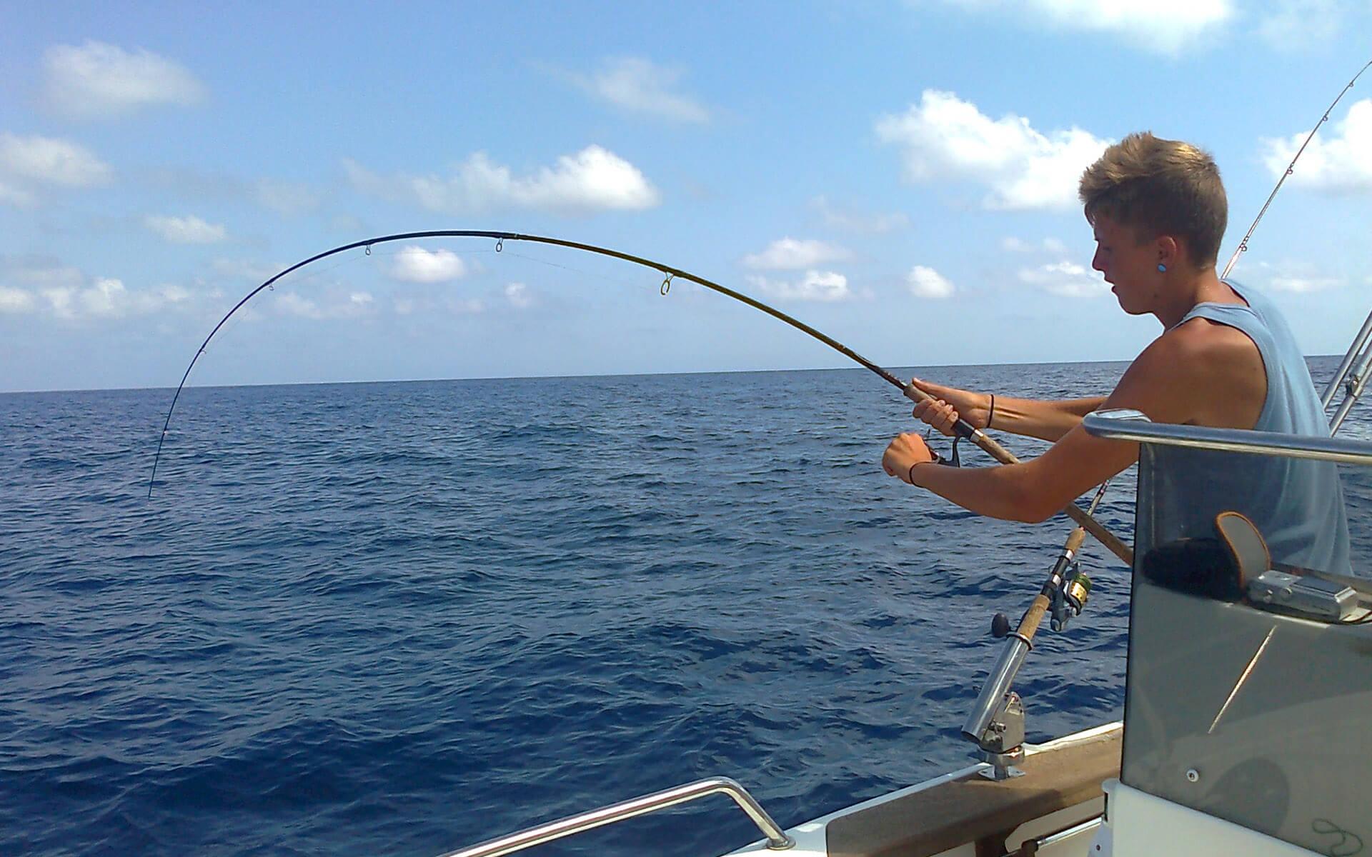 Salidas de pesca en Cambrils y Salou