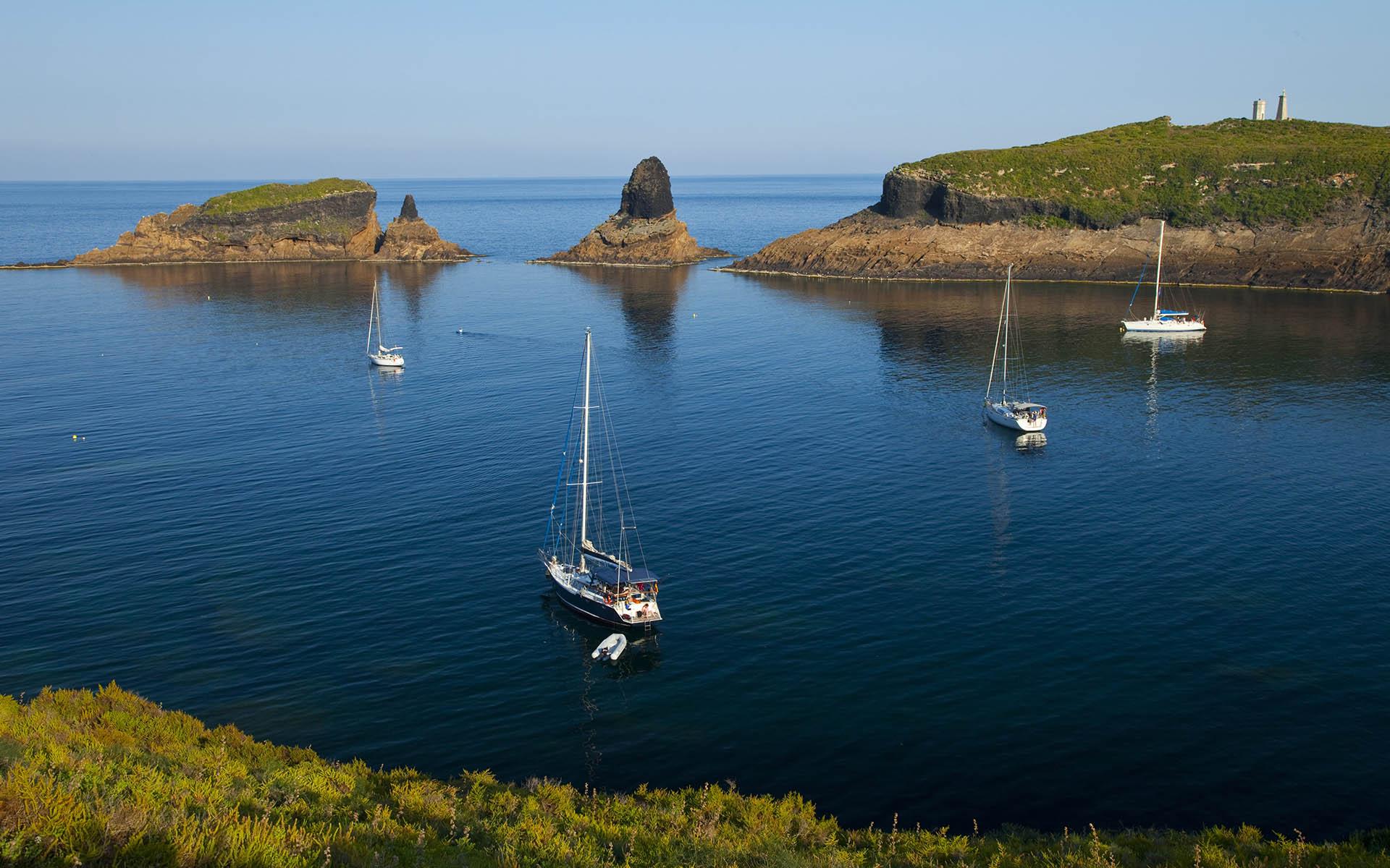 Fin de semana en las Islas Columbretes en un velero