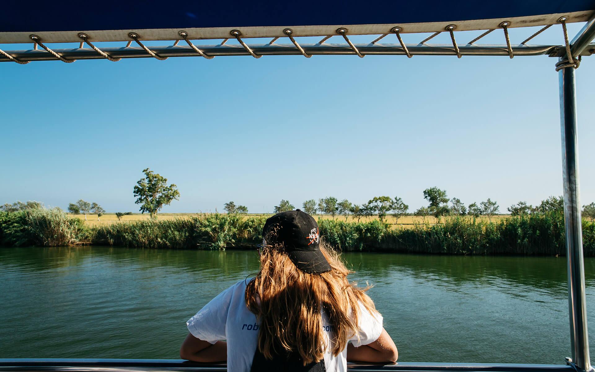 Cruiser throught the Ebro's Delta