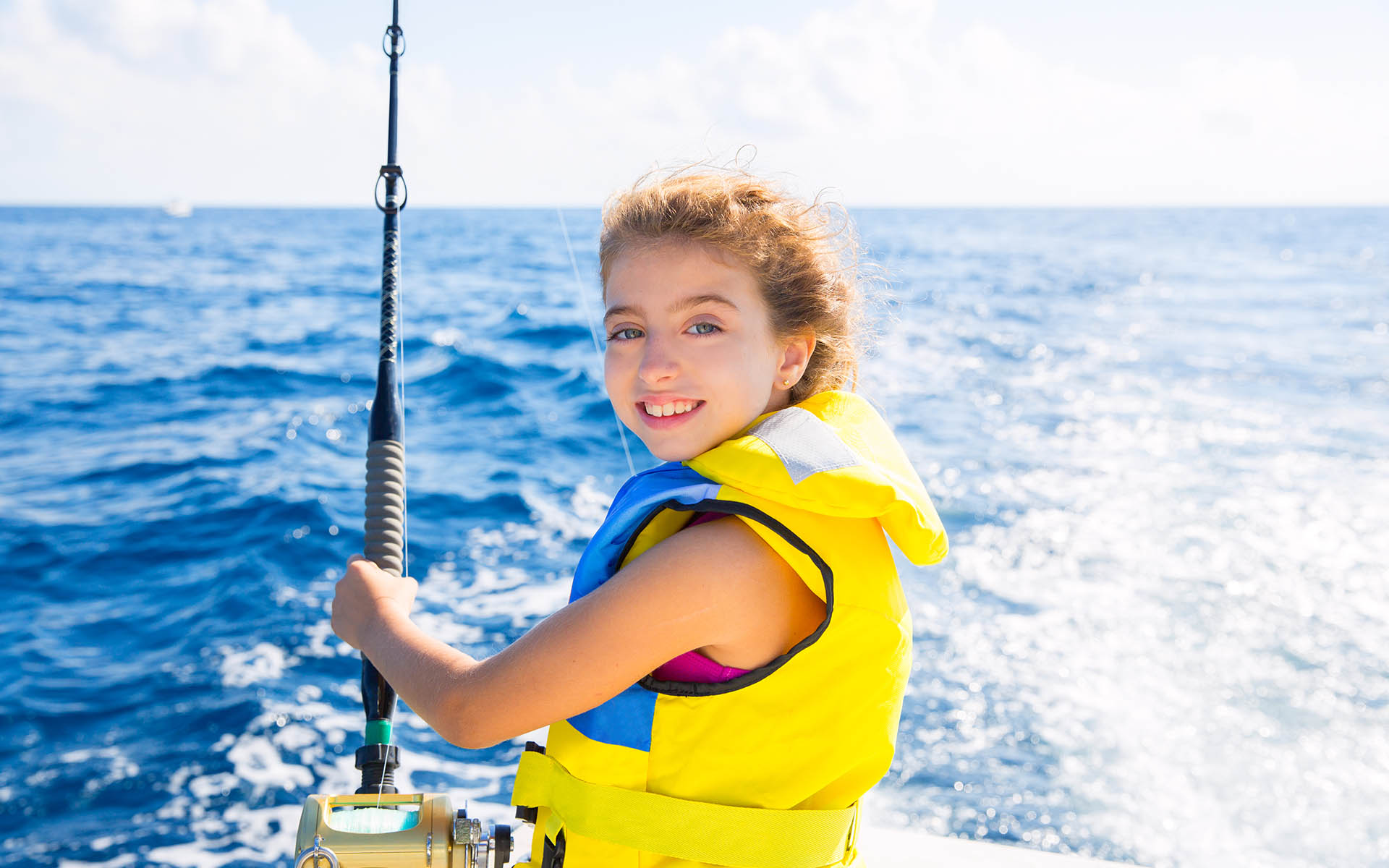 Salidas de pesca infantil